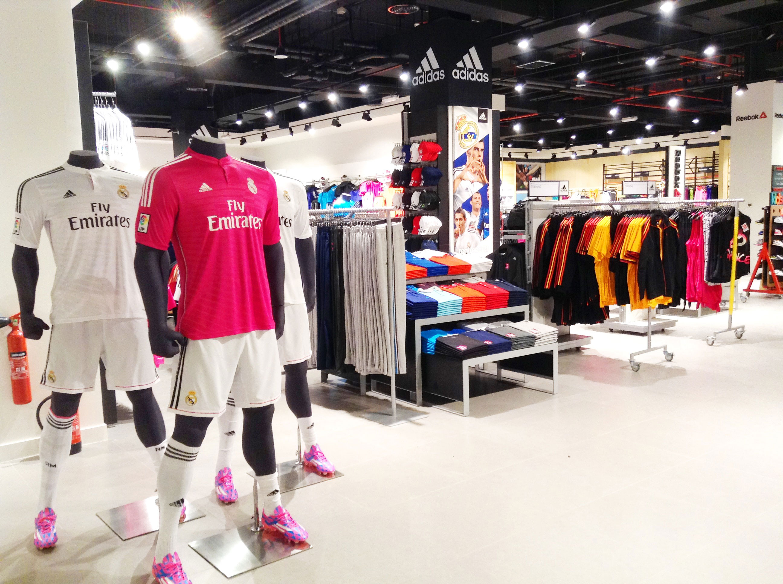 Tracking Inventory Of Goods In Sports Retail Store With