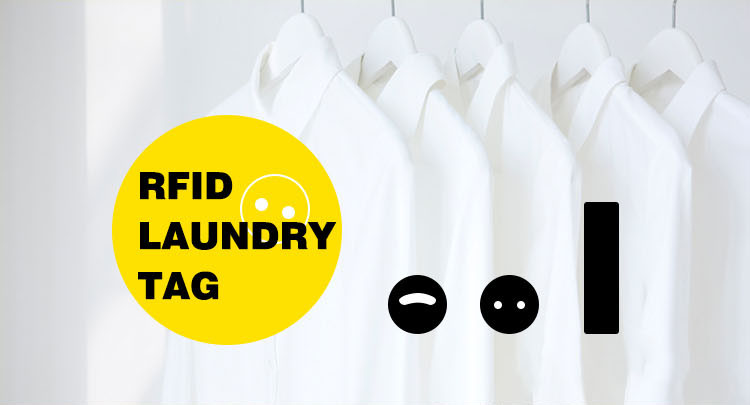 Rfid Washable Tag Laundry Tag For Garment Textile Management
