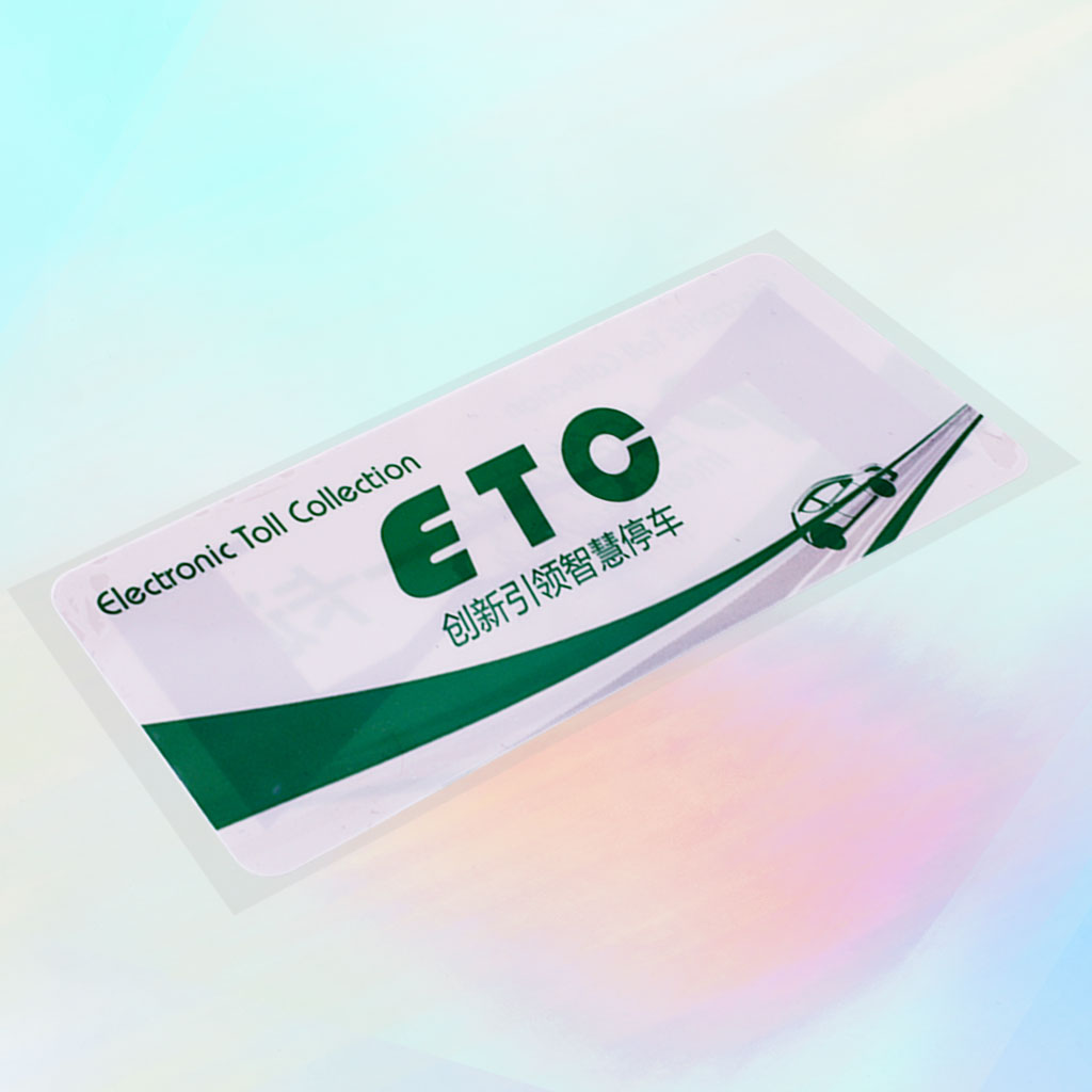 Non-Transferable Car Windshiled Label | RFID card, Proximity