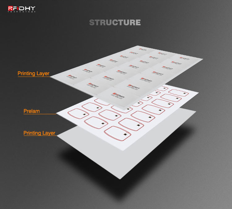 Prelaminated Inlays Hf Rfid Card Proximity Card Of